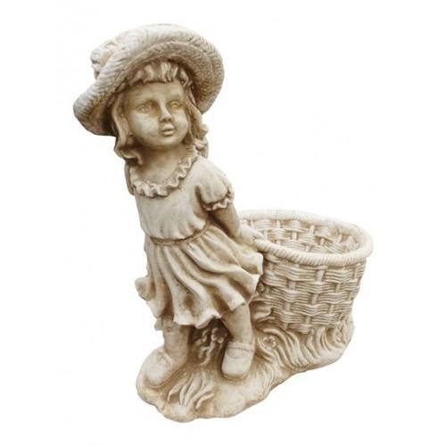 Dziewczynka z koszem na kwiaty-Mała Art.731