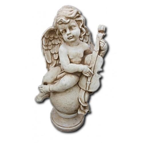 Aniołek na kuli zw skrzypcami Art. 746