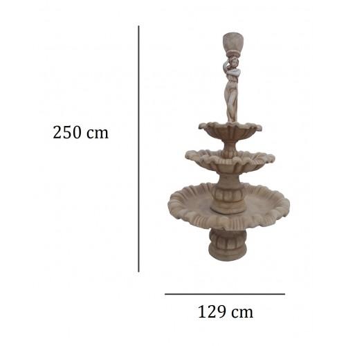 Duża fontanna z kobietą Art.963