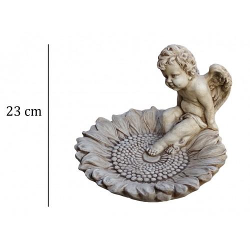 Poidełko Słonecznik z aniołkiem Art.1026
